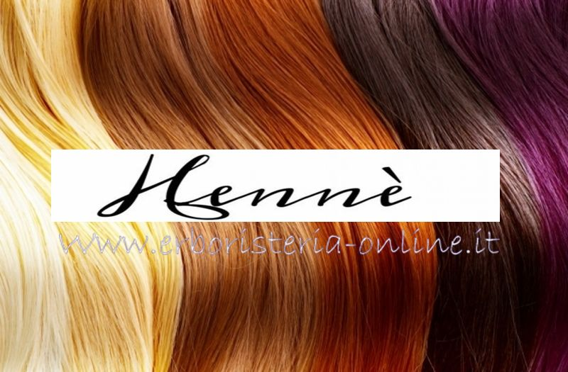 Hennè colore per capelli